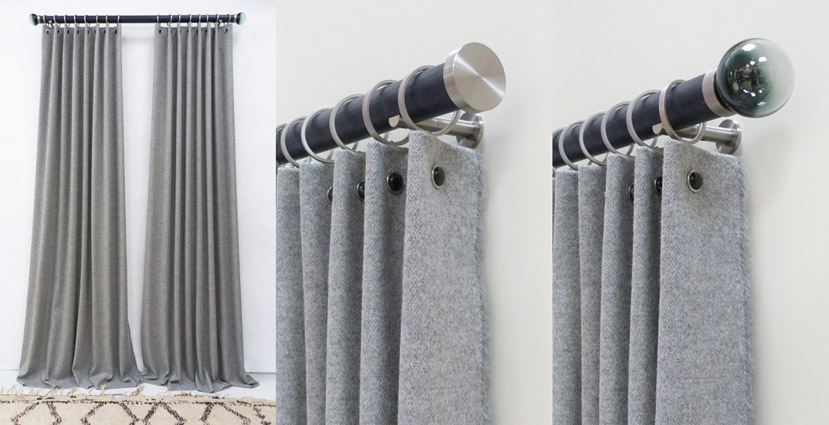 A New Take On The Ready Made Curtain